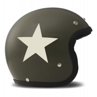 Casque Jet DMD Star Green