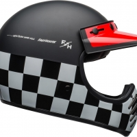 Casque BELL Moto-3 Fasthouse Checkers Matte/Gloss