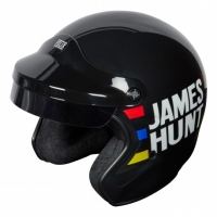 Casque Jet Félix Motocyclette ST520 James Hunt Replica