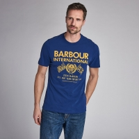 Tee-shirt Barbour Race Flag Steve Mc Queen