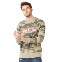 Sweat-Shirt Von Dutch Homme Camouflage Clint