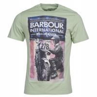 Tee-shirt Barbour Steve Mcqueen Fixer Vintage Vert