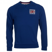 Sweet-Shirt Barbour International Team Flags Bleu