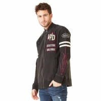 Sweat zippé homme Hoodie Von Dutch Irwin