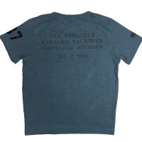 Tee-shirt Warson Motors Avenger Bleu