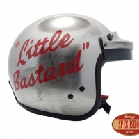 Casque Jet Acier James Dean Little Bastard 130