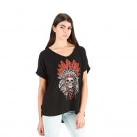 Tee-Shirt Von Dutch Femme Free Noir