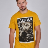 Tee-shirt Barbour Steve Mcqueen Combo Gold
