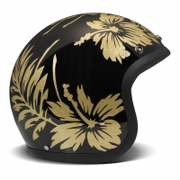 Casque Jet DMD Vintage Flower