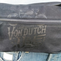 Banane Kaki Von Dutch Canvas Coton