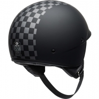 Casque Jet BELL Scout Air Check Matte Black White
