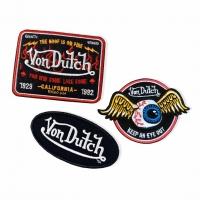Lot de 3 Patch Von Dutch
