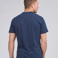 Tee-shirt Barbour Steve McQueen Multi Bleu