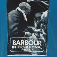 Tee-shirt Barbour Steve McQueen Mechanic Legion Blue