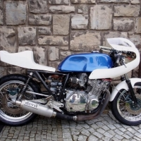 Demi Carenage Cafe Racer Blvd 966 Sans Optique
