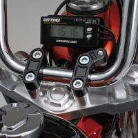 Bride Avec Filetage M6 Pour Compteur Daytona Cote Gauche Pour Guidon Diamètre 22mm