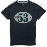 Tee-shirt Warson Motors Birdcage Carbone
