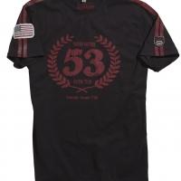 Tee-shirt Warson Motors Birdcage Laurier Noir
