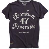 Tee-shirt Warson Motors Bombers 47 Carbone