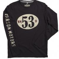 Tee-shirt Warson Motors Birdcage Ls Carbone