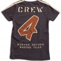 Tee-shirt Warson Motors Crew Carbone