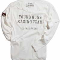Tee-shirt Warson Motors Young Guns Ls Blanc
