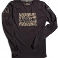 Tee-shirt Warson Motors Kamikaze Ls Carbone
