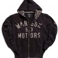 Gilet / Hoodie Warson Motors Bonneville Noir