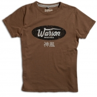 Tee-shirt Warson Motors Cycle Shack Brun