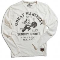 Tee-shirt Warson Motors Felix Marianas Long Blanc