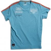 Tee-shirt Warson Motors Targa Gulf Blue