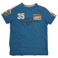Tee-shirt Warson Motors Cevert Bleu