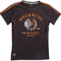 Tee-shirt Warson Motors Chiefs Noir