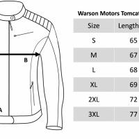 Blouson cuir Warson Motors US Navy Tomcat