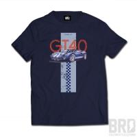 Tee-shirt GT40 Bleu Marine