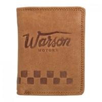 Porte Monnaie Mini Warson Motors Brun