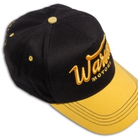 Casquette Warson Motors Challenger Black-Yellow