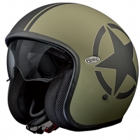 Casque Premier jet Vintage Star Military BM