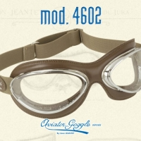 Lunettes cuir Aviator Goggle 4602