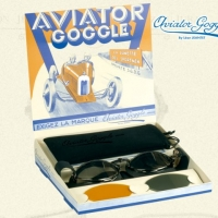 4aab720fc539c Lunettes cuir Aviator Goggle 4602 - AVIATOR GOGGLE   Accessoire ...