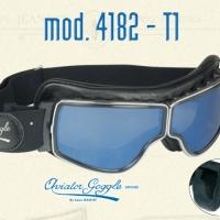 Lunette Aviator Goggle 4182 T2 verre bleu ou argent