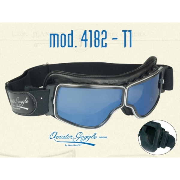 Lunette Aviator Goggle 4182 T2 verre bleu ou argent - AVIATOR GOGGLE ... 56883d56336c
