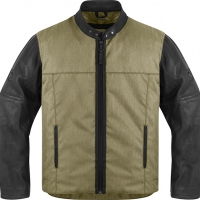 Blouson ICON 1000 VIGILANTE Noir ou Dark Earth