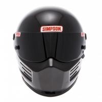 Casque Auto SIMPSON 420 Bandit Noir Brillant