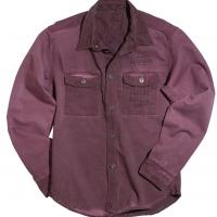 Chemise Warson Motors Homme Bordeaux Mecano Shirt