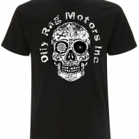 Tee-shirt Oily Rag Motors Noir