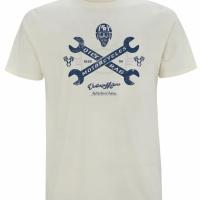 Tee-shirt Oily Rag Vintage Motors Blanc