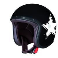 Casque Jet Caberg Freeride Star Noir Mat Blanc
