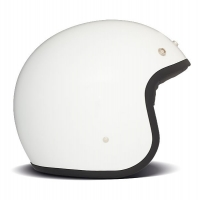 Casque Jet DMD Solid Blanc