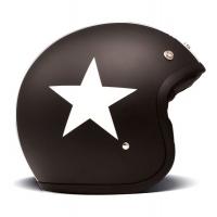 Casque Jet DMD Star Noir Mat